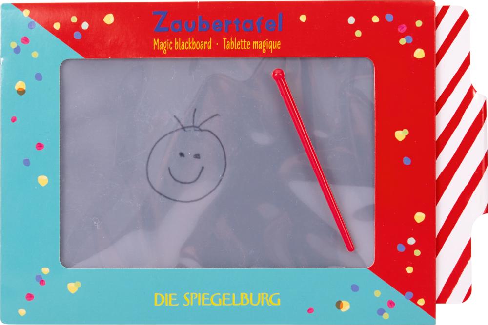 Zaubertafel mit ABC Lernkarte Bunte Geschenke