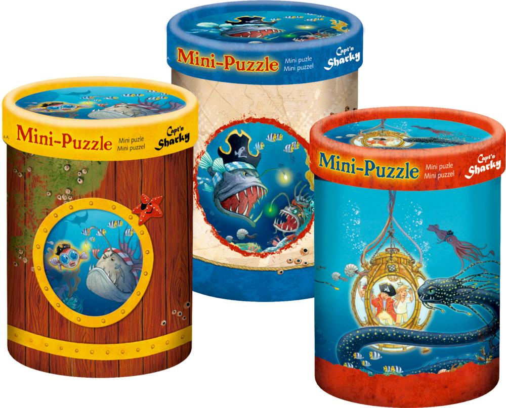 Mini-Puzzle Capt'n Sharky Tiefsee (40 Teile)
