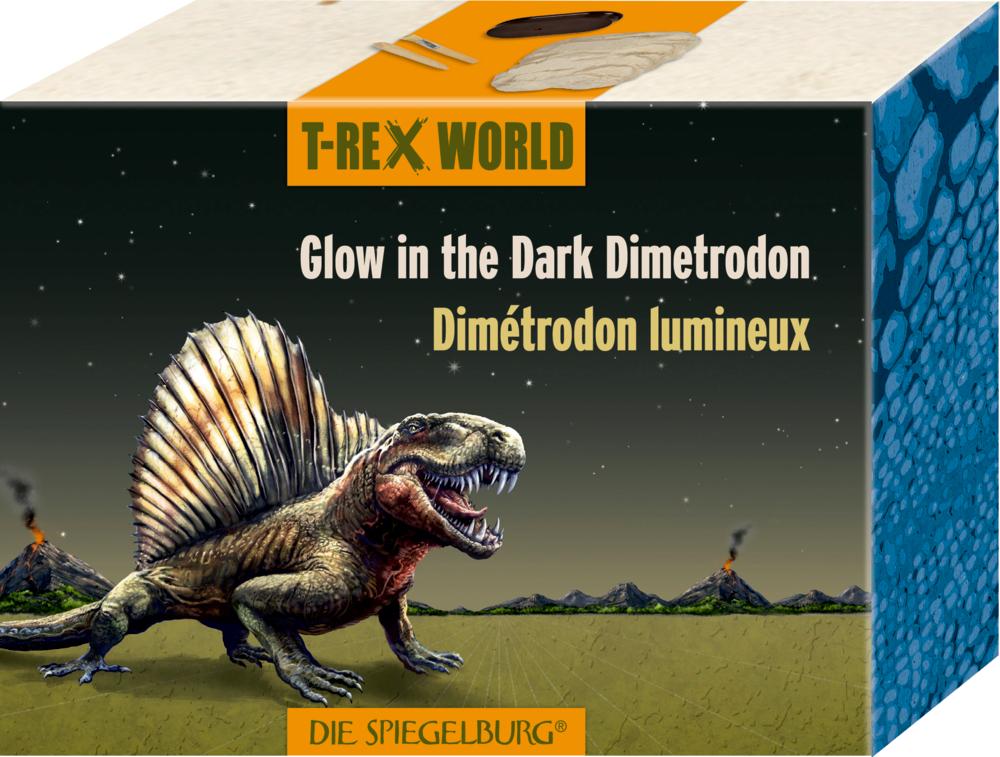 Glow in the Dark Dimetrodon  T-Rex World