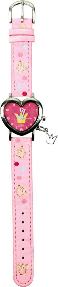 Armbanduhr Prinzessin Lillifee (in Herzform)
