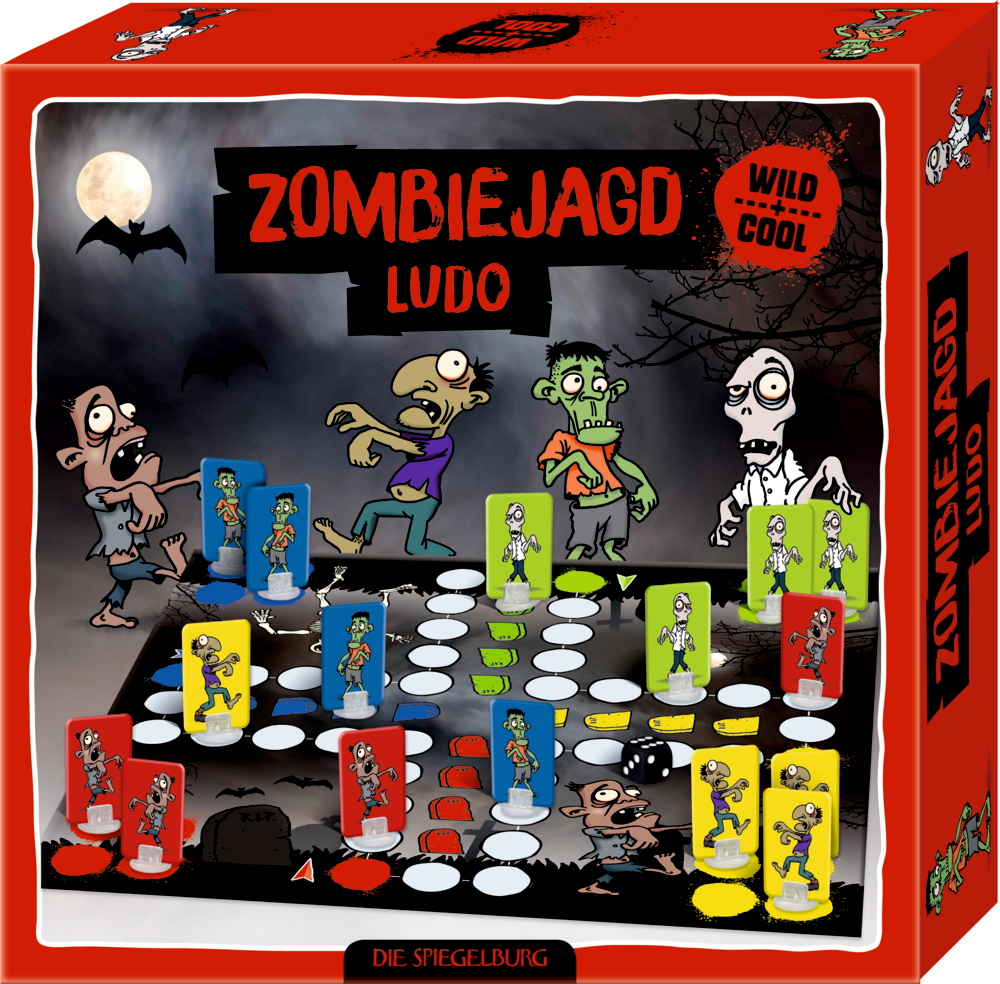 """Ludo-Spiel """"Zombiejagd"""" Wild+Cool"""