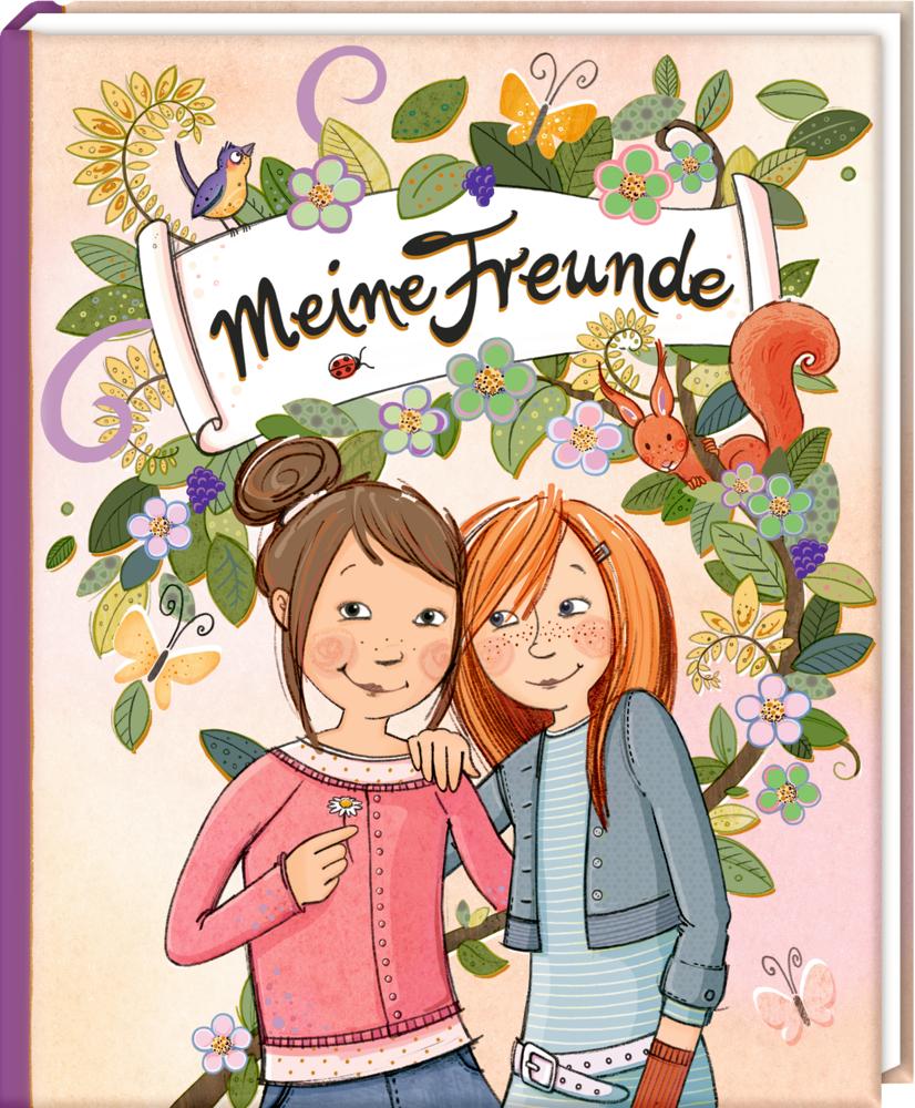 Freundebuch: Girls only - Meine Freunde