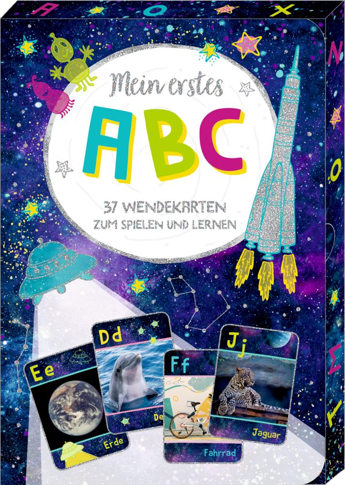 Mein erstes ABC - Wisch & Weg-Wendekarten Cosmic School