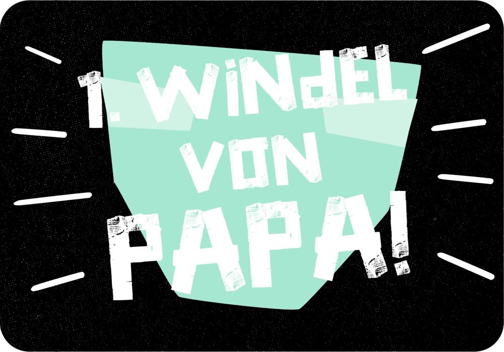Meilensteinkarten - Das erste Jahr als Papa