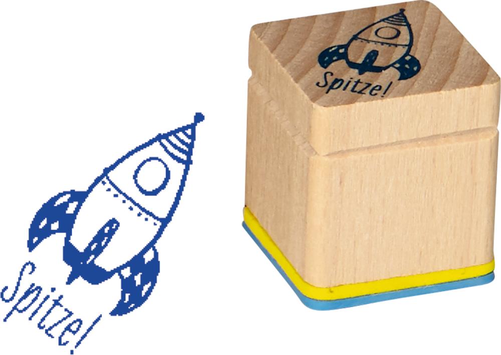 Rakete, Motivationsstempel Bunte Geschenke