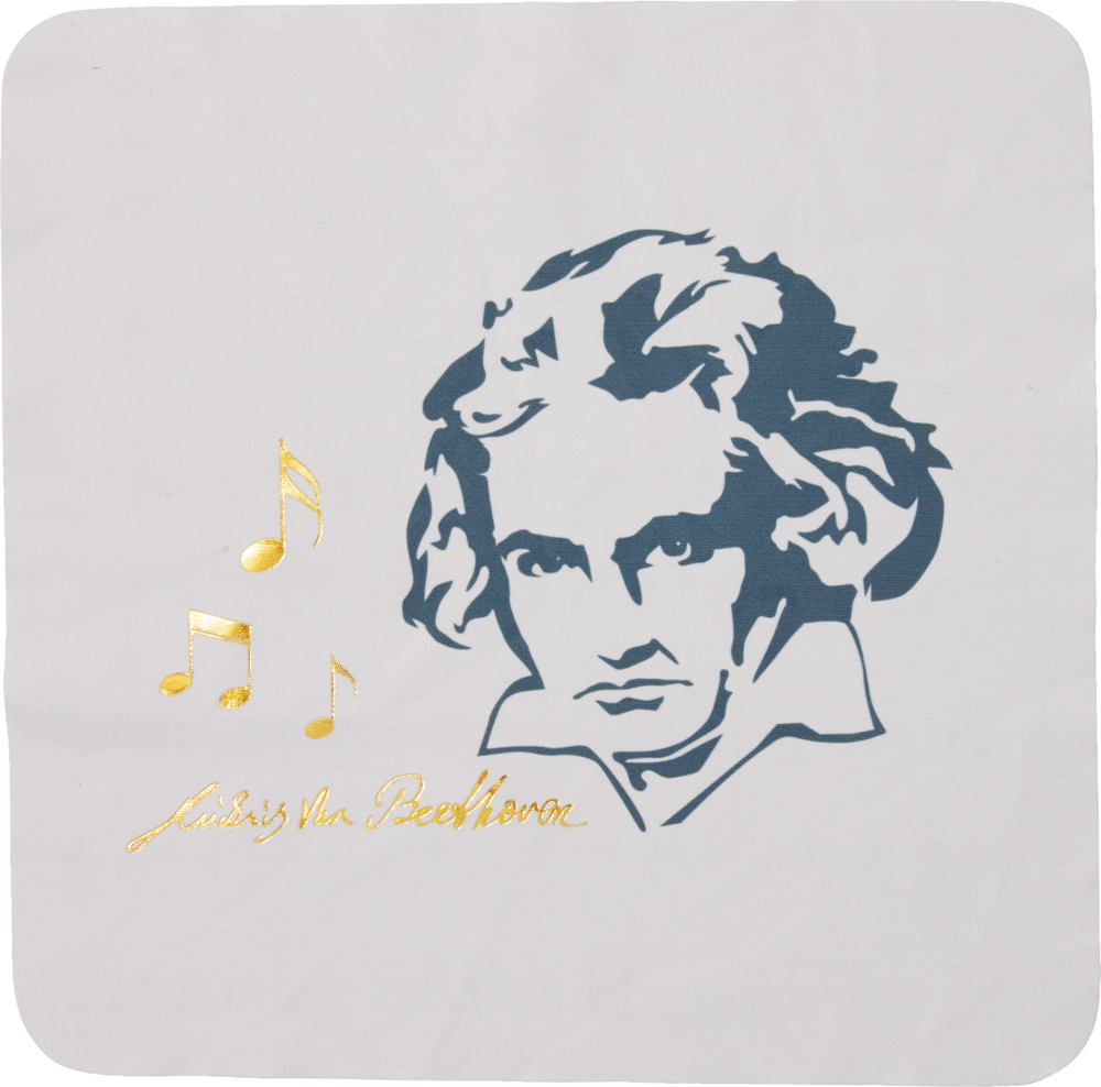 Mikrofasertuch Ed. Beethoven - All about music