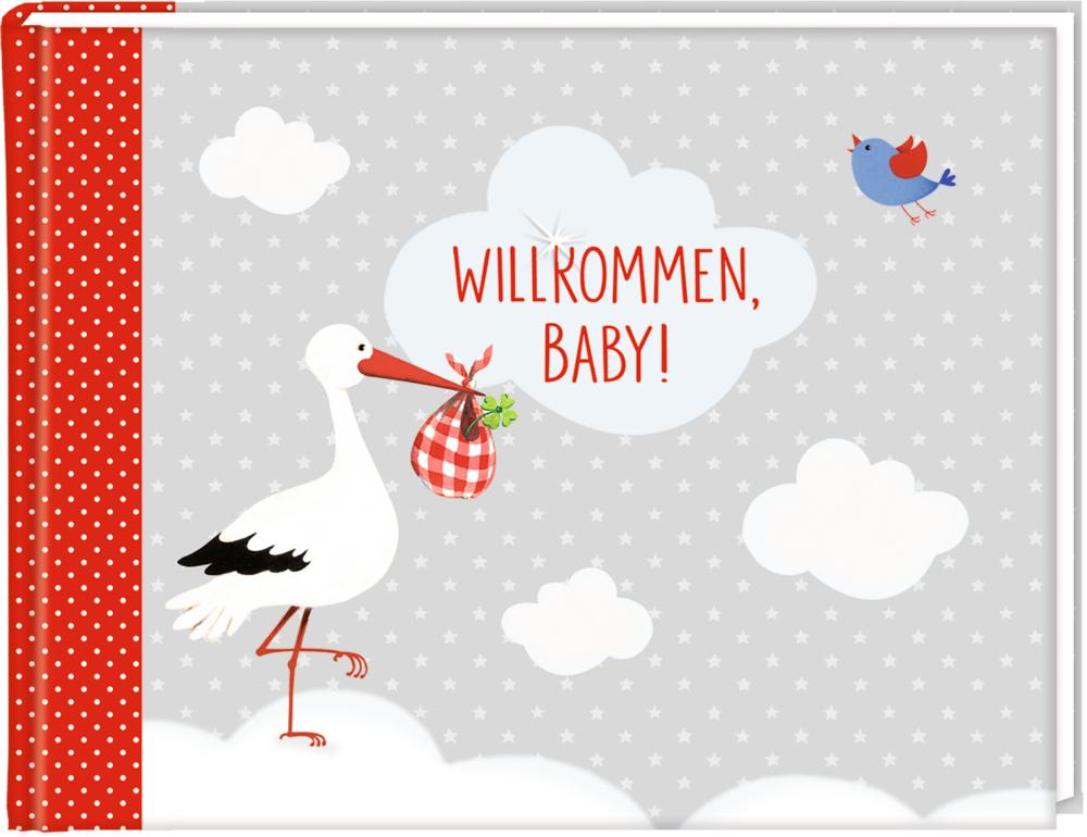 Eintragalbum: Willkommen, Baby! BabyGlück