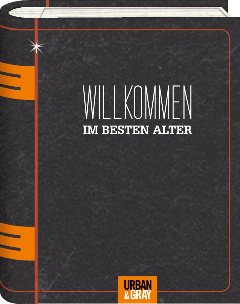 Willkommen, Wunscherfüller im Buchformat Urban&Gray