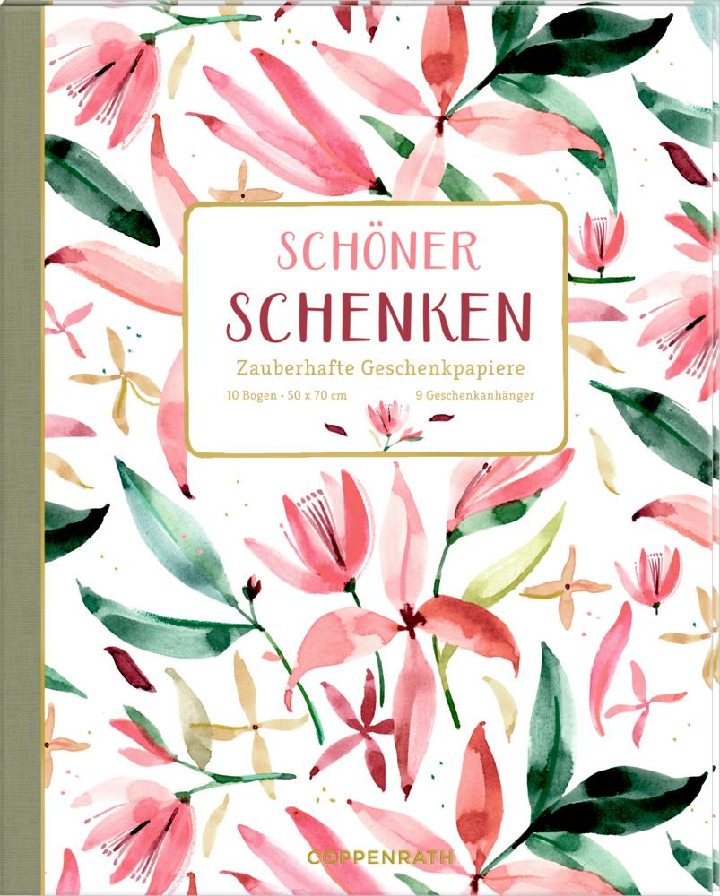 Geschenkpapier-Buch - Schöner schenken (All about rosé)