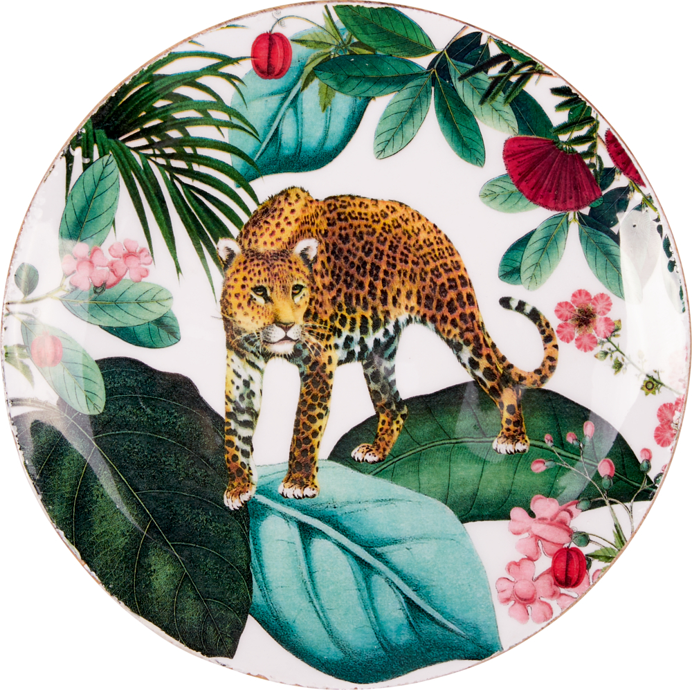 """Holzteller """"I love my Jungle"""" Garden"""