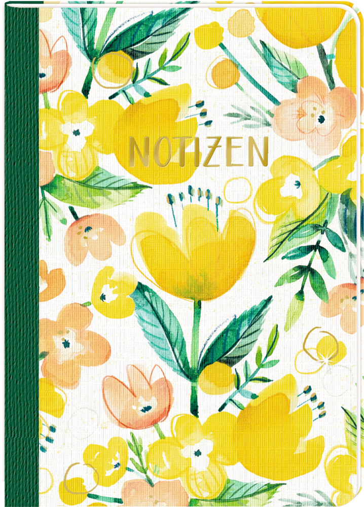 Notizheft DIN A5 - All about yellow