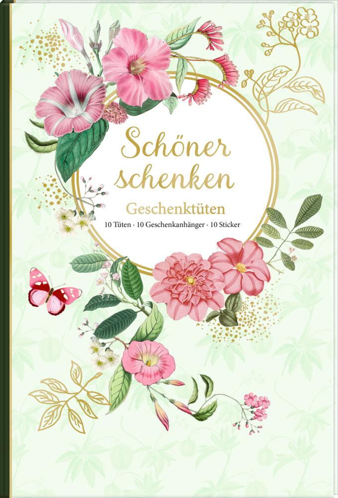 Geschenktüten-Buch: Schöner schenken (B.Behr)