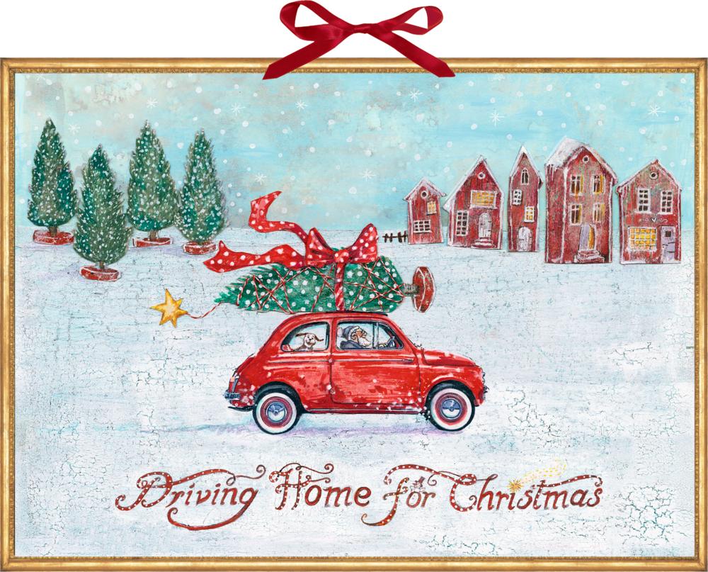Driving Home for Christmas, Wand-Adventskalender
