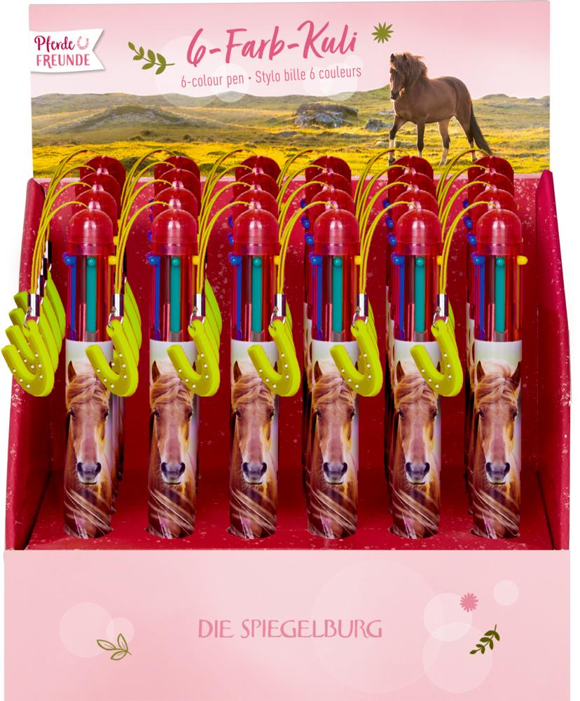 6-Farb-Kuli Pferdefreunde