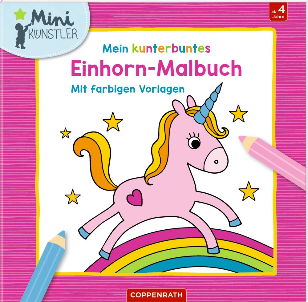 Mein kunterbuntes Einhorn-Malbuch (Mini-Künstler)