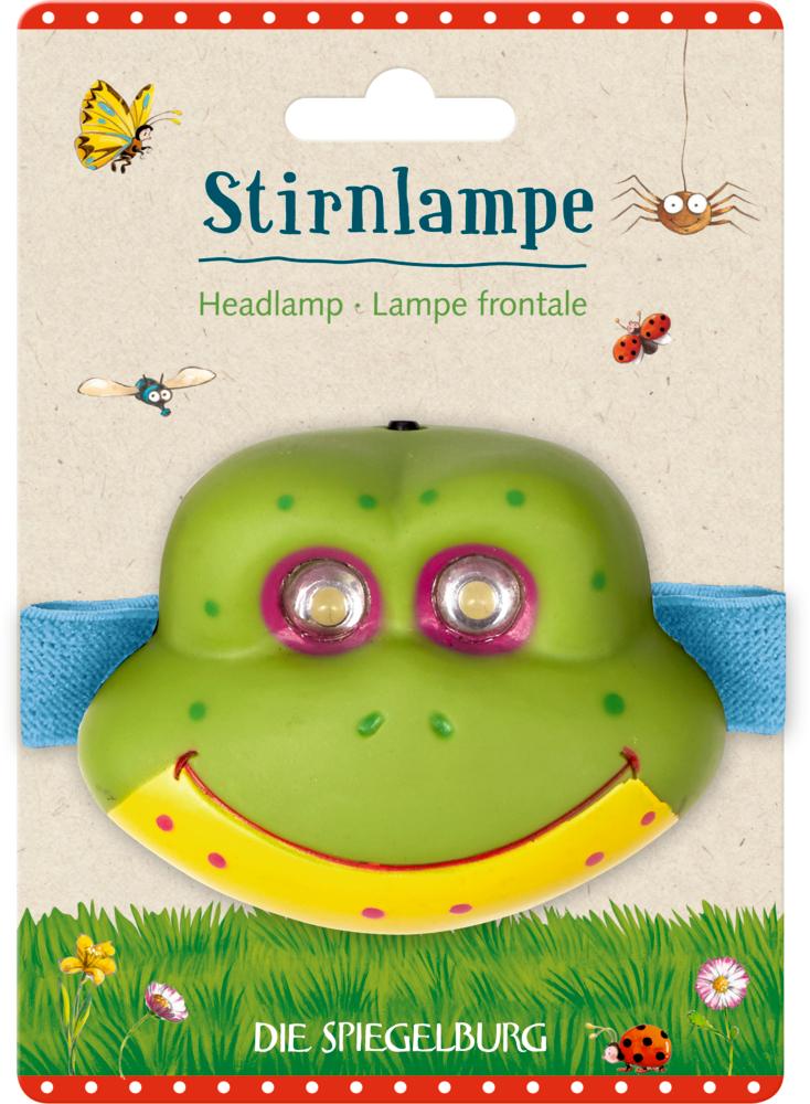 Frosch, Stirnlampe Garden Kids