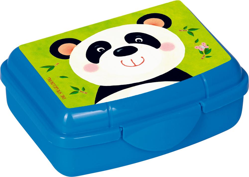 Mini-Snackbox Panda - Freche Rasselbande