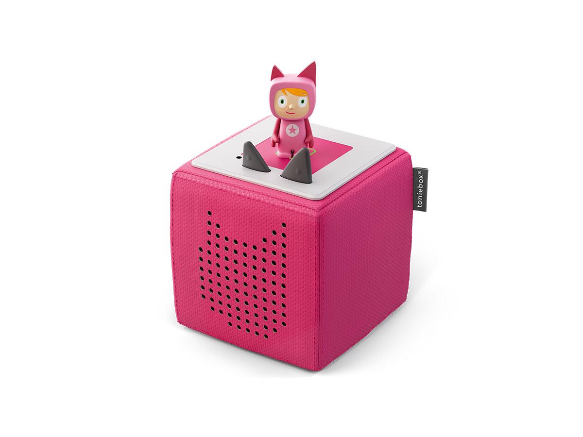 Toniebox Starterset pink (Kreativ-Tonie) (Marke tonies)