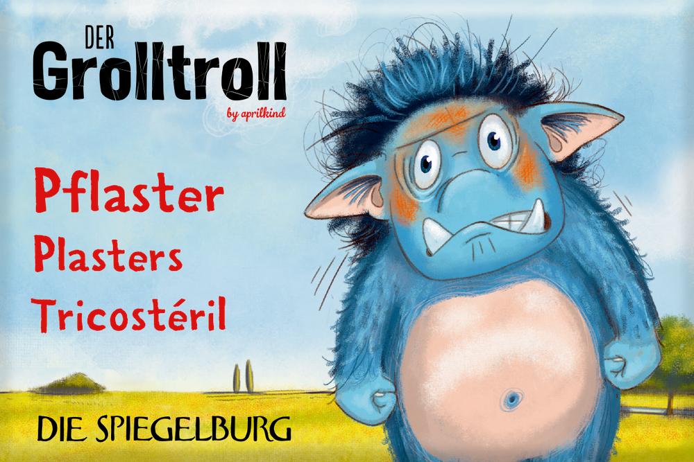 Pflasterstrips Der Grolltroll (10 St.)