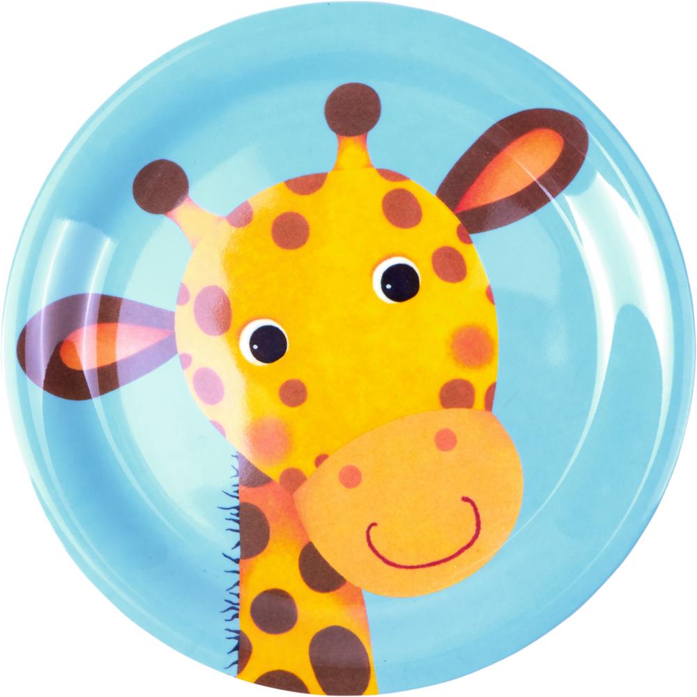 Melamin-Teller Giraffe  Freche Rasselbande