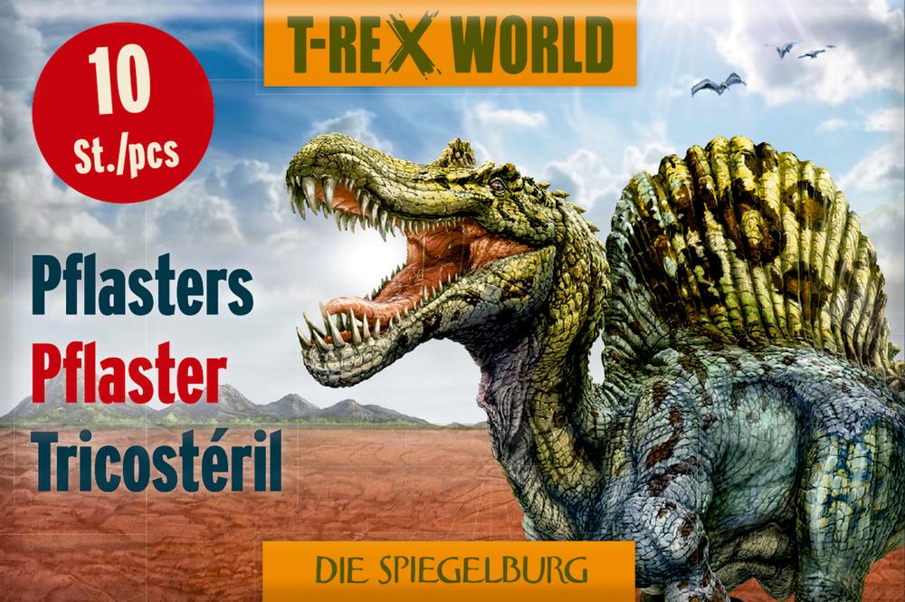 Pflasterstrips T-Rex World (10 St.)
