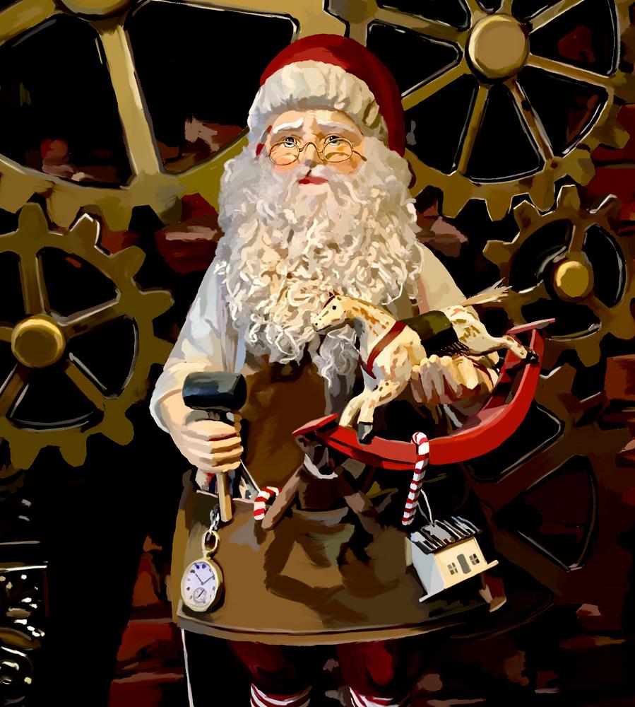 Christmas Imaginarium, Wand-Adventskalender