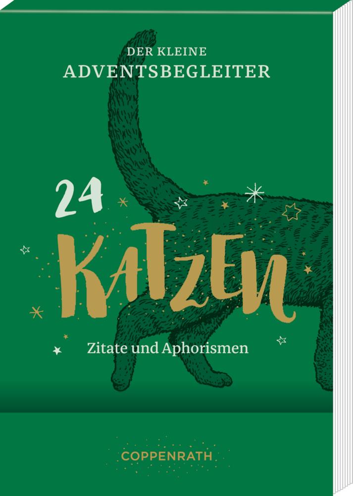 Der kleine Adventsbegleiter Katzen, Aufstell-Adventskalender
