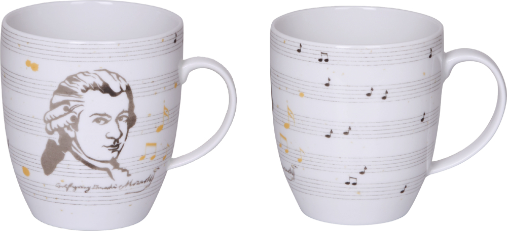 """Tasse """"Edition Mozart"""" All about music"""