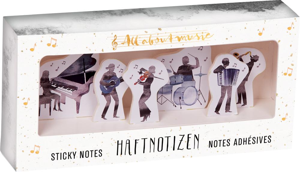 Haftnotizen All about music