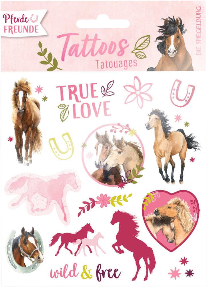 Tattoos Pferdefreunde