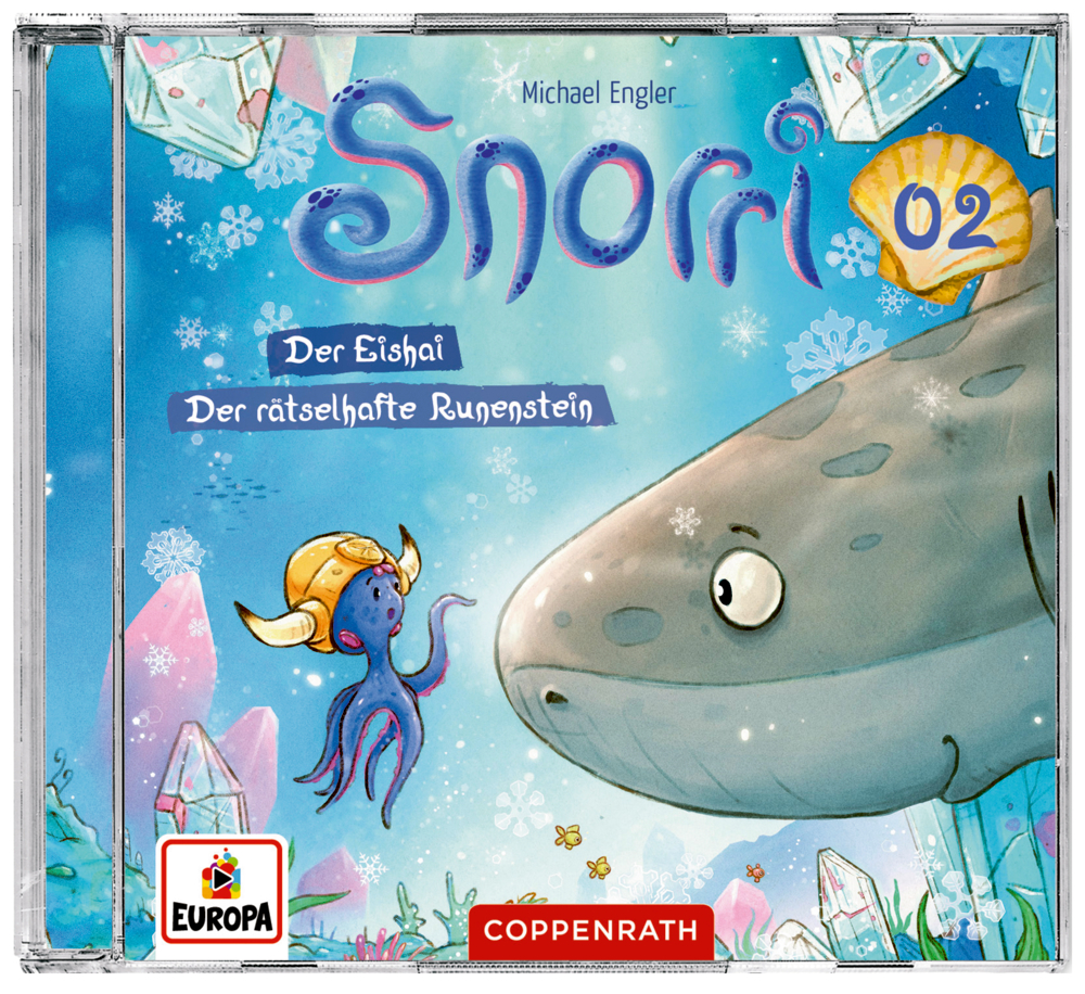 CD Hörspiel: Snorri (Bd.2) - Der Eishai & Der rätselhafte Runenstein