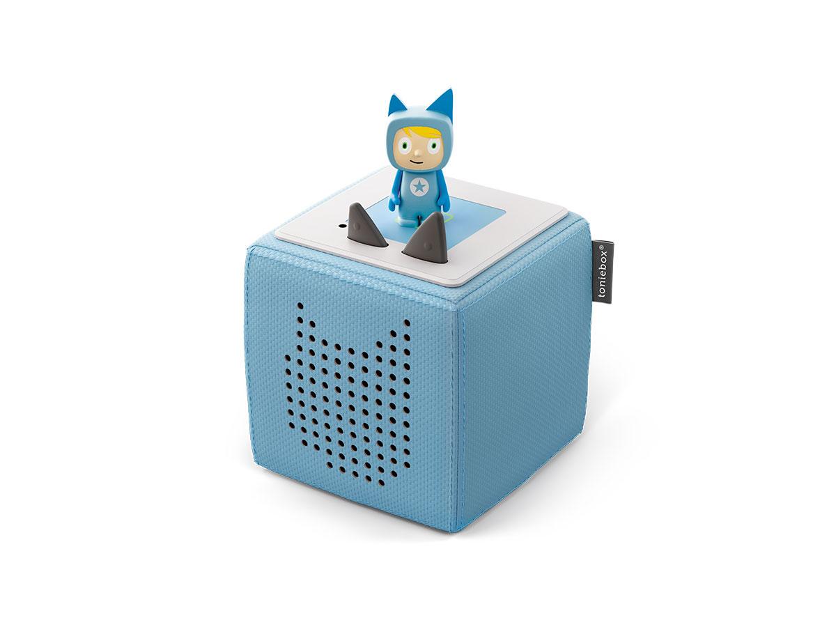 Toniebox Starterset blau (Kreativ-Tonie) (Marke tonies)