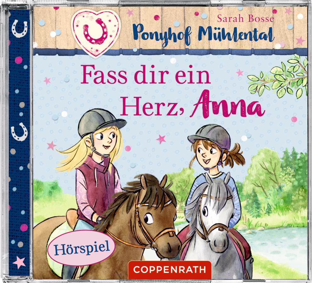 CD Hörspiel: Ponyhof Mühlental (Bd.2) Fass dir ein Herz,Anna