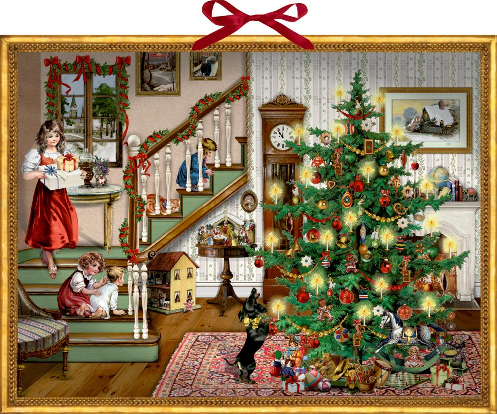 Weihnachten bin ich zu Haus, Wand-Adventskalender (B.Behr)