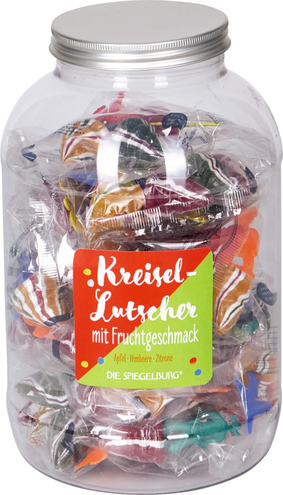 Kreisel-Lutscher mit Fruchtgeschmack Bunte Geschenke