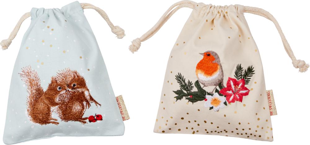 Stoffsäckchen Zauberhafte Weihnachten M.Bastin
