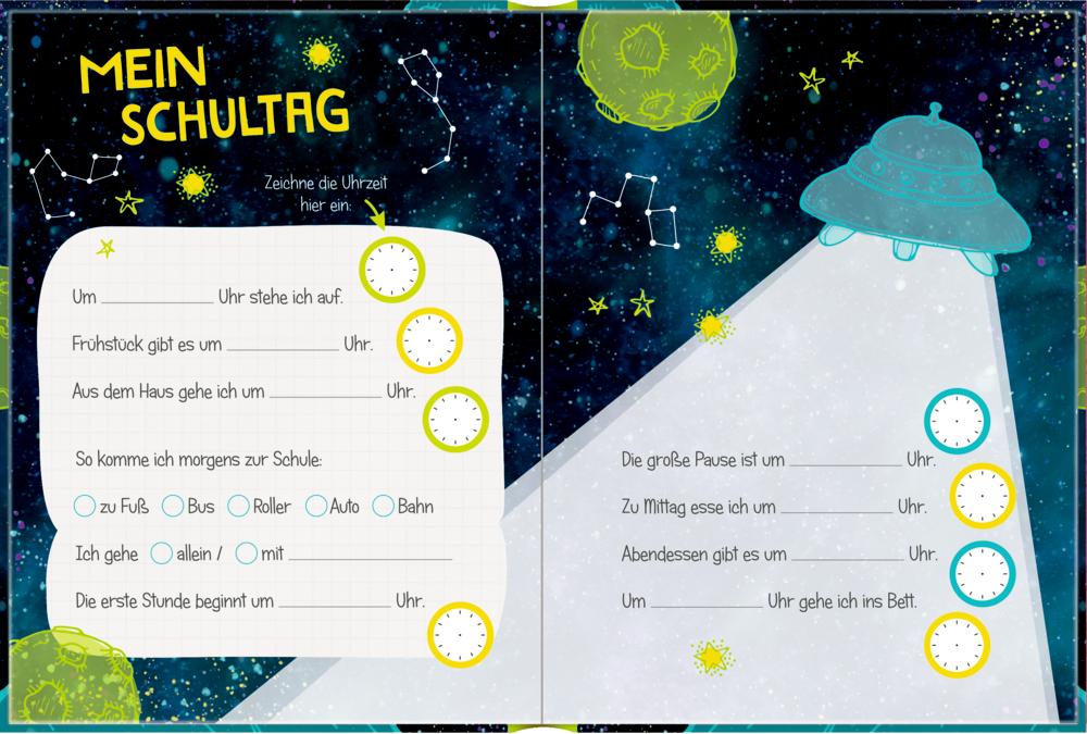 Kleines Geschenkbuch: Cosmic School - Endlich Schule! (Astronaut)