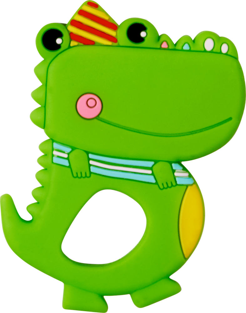 Beißring Krokodil BabyGlück