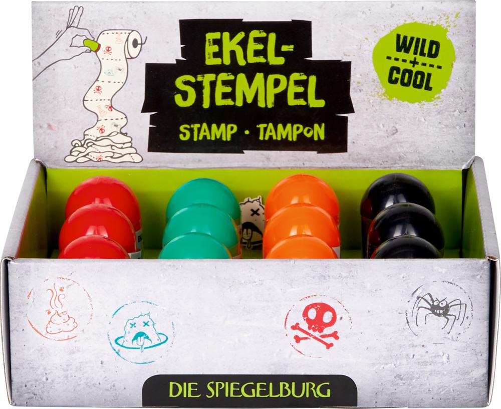 Ekel-Stempel Wild+Cool