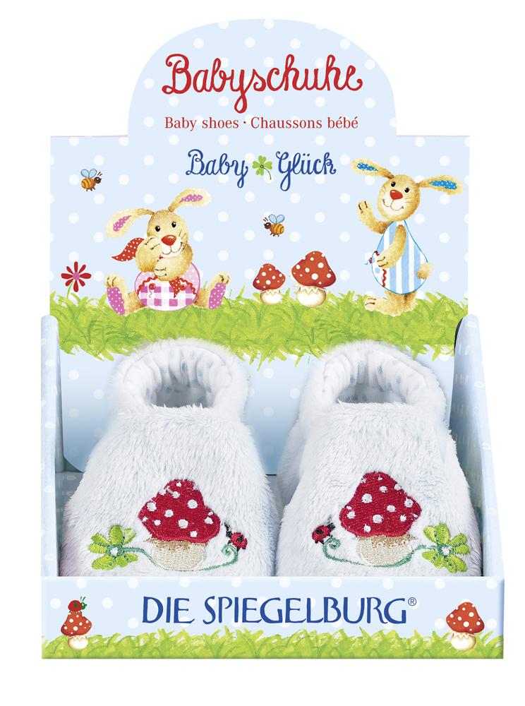 Babyschuhe BabyGlück, hellblau (one size)