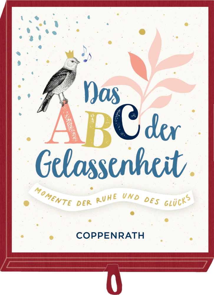 Geschenkschachtel - Das ABC der Gelassenheit