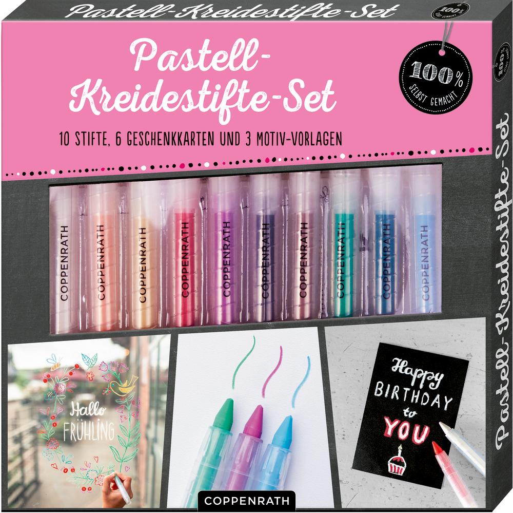 Pastell-Kreidestifte-Set (100% selbst gemacht)