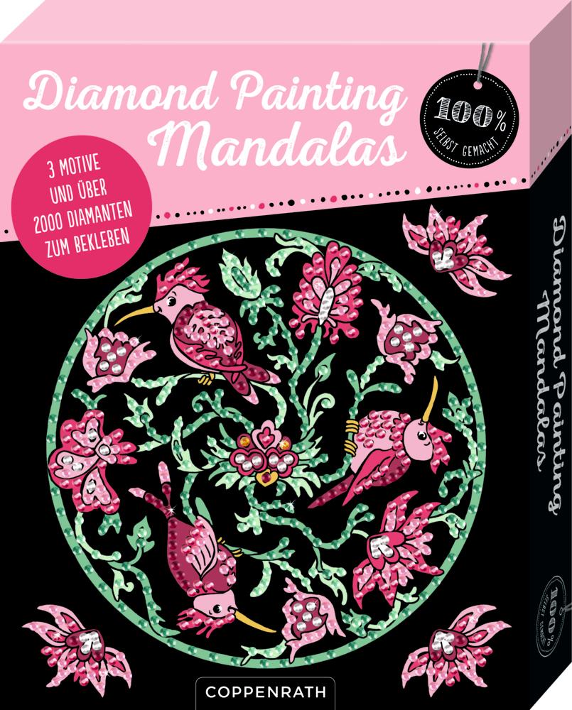 Diamond Painting Mandalas (100% selbst gemacht)