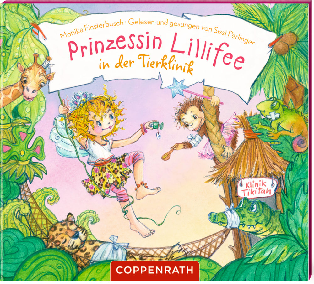 CD Hörbuch: Prinzessin Lillifee in der Tierklinik