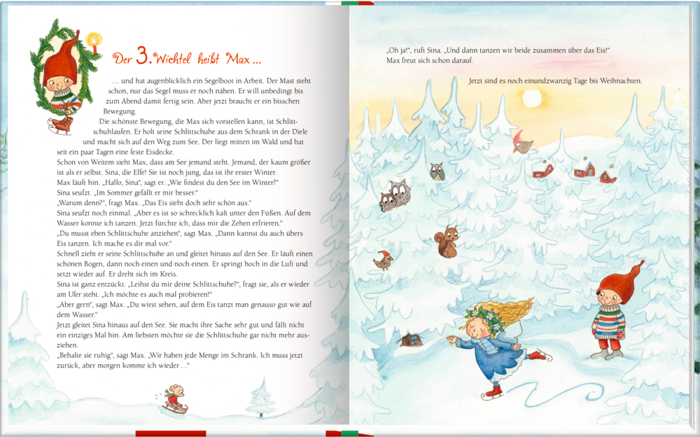 24 Weihnachtswichtel (Geschichten & Gedichte im Advent)