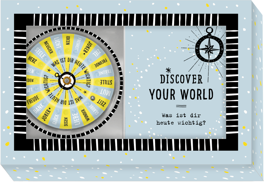Discover your world - Was ist dir heute wichtig? (Roulette)