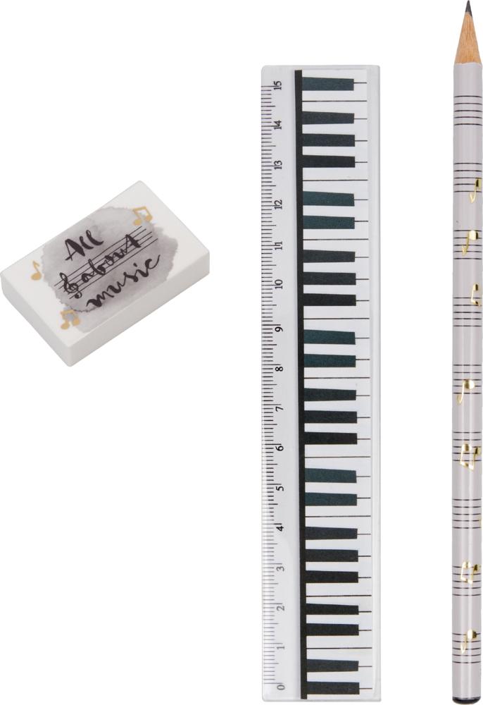 Schreibset All about music