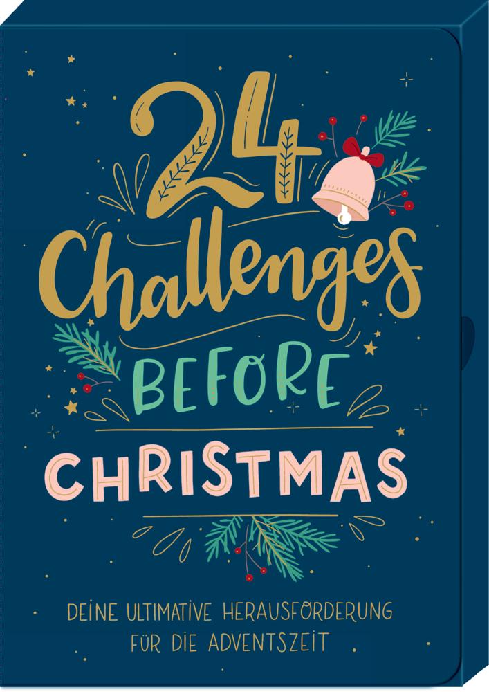 24 Challenges before Christmas, Karten-Box für die Adventszeit