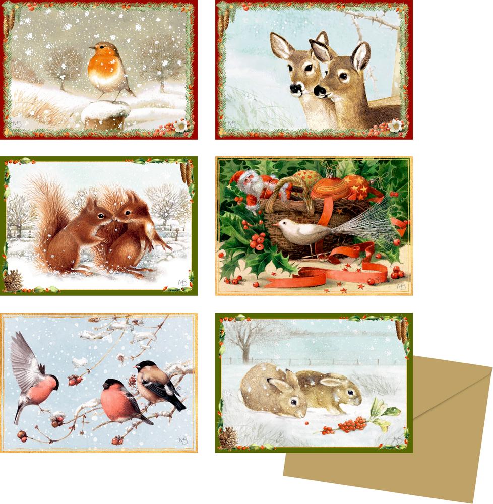 Zauberhafte Winterzeit, Miniatur-Adventskalender