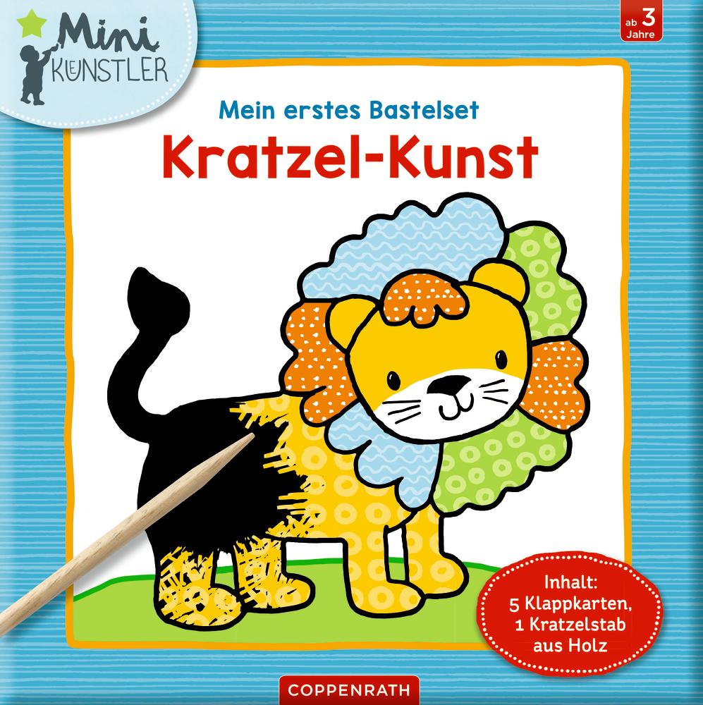 Mein erstes Bastelset: Kratzel-Kunst (Mini-Künstler)